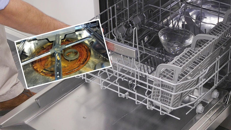 LG dishwasher noise problems