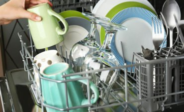 dishwasher odor problem