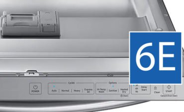 Samsung dishwasher error code 6e